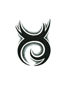 Tribal Taurus Tattoo Design by JSHarts on deviantART