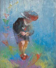 "Saatchi Art Artist Anna Ravliuc; Painting, ""Your Own Set of Wings"" #art"