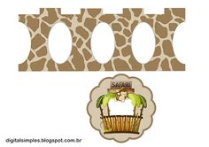 Safari Babies: Free Printable Mini Cupcake Stand.