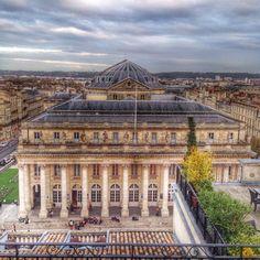 Grand Théâtre de Bordeaux - Roof top du @ghbordeaux trop trop beau