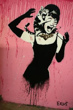 Street art of the week street art cat street art Chat !  streetartcat13