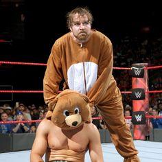 Heath Slater & Rhyno vs. The Miz y un oso: fotos   WWE
