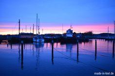 Sonnenaufgang auf dem Ostufer.
