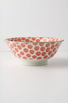 Atom Art Serving Bowl, Red Dishwasher & Microwave proof Japan H, D. Serveware, Tableware, Kitchenware, Kitchen Collection, Dinner Sets, Uk Fashion, Cool Kitchens, Jewelry Gifts, Bowls