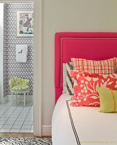 play with patterns and colors to create a fun mix.