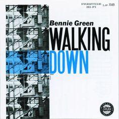 "BENNIE GREEN : "" walking down "" ( fantasy records ) personnel: Bennie Green - trombone Eric Dixon - tenor saxophone Lloyd Mayers - piano Sonny Wellesley - bass Bill English - drums http://www.qobuz.com/fr-fr/album/walking-down-bennie-green/0002521817522"