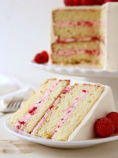 Layers of yellow cake filled with a creamy raspberry icing and all covered with white chocolate meringue buttercream is asummertime cake worthy of any occasion.  In about one month, more or less, I'm going to be a mother of two. I'm excited and nervous, and pretty much feeling everything [...]