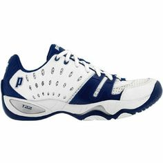 Prince T22 Women`s Team Tennis Shoes White Navy 7.5 Blue Prince. $89.00