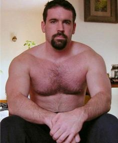 Tumblr is a place to express yourself, discover yourself, and bond over the stuff you love. It's where your interests connect you with your people. Goatee Beard, Muscle Bear, Many Men, Hairy Chest, So Little Time, Male Models, Beautiful Men, Heaven, Handsome