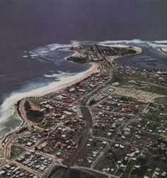 Happy throw back Thursday. Check out this aerial photo of Coolangatta Photo by R Millar, Courtesy Syd Fisher and Have you seen the old Gold Coast Gold Coast Queensland, Brisbane Gold Coast, Gold Coast Australia, Brisbane City, Queensland Australia, Western Australia, Family Holiday Destinations, Local History, Sunshine Coast