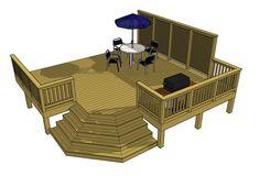 Free deck plans 1L057