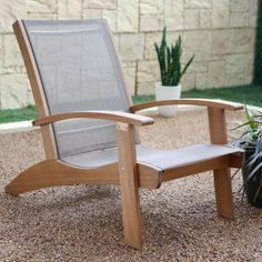 Whitman Collection Adirondack Chair with Sling