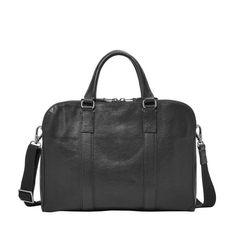Fossil Mayfair Double Zip Workbag Black MBG9031001