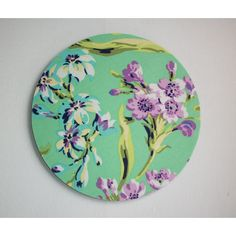 Flash Mouse Pad Mousepad Mat Round Amy Butler Love Bliss Bouquet... ($8.99) ❤ liked on Polyvore featuring home, home decor, office accessories, grey, home & living, office, office & school supplies, round mouse pad and purple office accessories