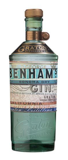 Review: Graton Distilling D. George Benham's Sonoma Dry Gin