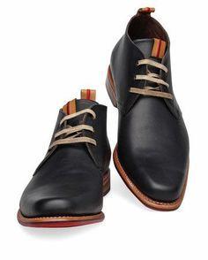 buy popular e40e9 1732a Zapatos   Hombre   2017 Black Shoes For Men, Casual Boots For Men, Italian