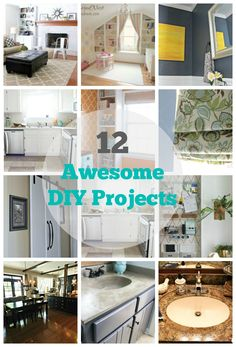 12 awesome home improvement ideas do it yourself today pinterest