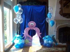 under water party decoration