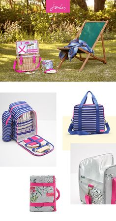 Our picnic collection has all you need for dining outdoors. From picnic baskets and hampers with all the essentials to blankets and picnic chairs in stunning Joules prints - all we can't give you is the sunshine.