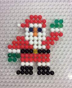 Ho ho ho! #Christmas #santa #aquabeads #art #craft