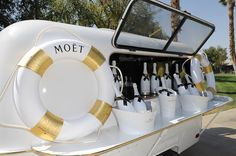Moet & Chandon Ice Imperial Debuts At The Lacoste Beautiful Desert Pool Party