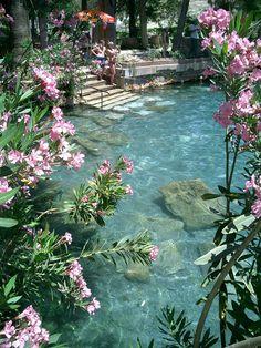 Cleopatra's pools, Hierapolis, Turkey