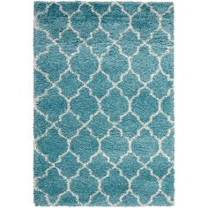 FREE SHIPPING! Shop AllModern for Wade Logan Guerra Aqua Area Rug - Great Deals on all  products with the best selection to choose from!