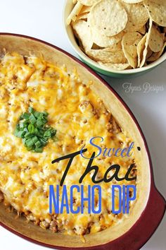 Super Easy and Yummy Thai Nacho Dip from fynesdesigns.com