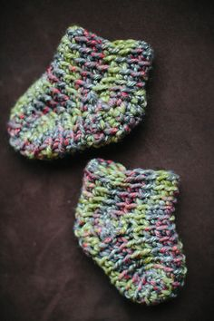 Simple crochet sock pattern & tutorial