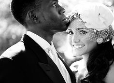 """""""Beautiful wedding photo – Nigerian Courtyard Wedding"""" ~ Gorgeous couple…Awesome! Congrats and bless them~~ ❤❤ Whitewomenseekingblackmen.net ❤❤ It is the most trusted and largest community for black men white women.Check it and you will have a good..."""