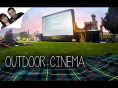 Urban Entertainment Pop up Cinema promotional video Lincoln Castle, Outdoor Cinema, Under The Stars, Visual Merchandising, Pop Up, Entertainment, Tours, Neon Signs, Urban