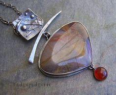 This beautiful Serape jasper gemstone comes from Mexico,