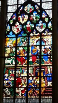 Church of Joan of Arc Stained Glass Window