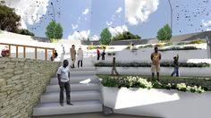 OUTDOOR EXHIBITION STAGE +AMPHITHEATER