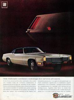Vintage Cadillac ads (1968)