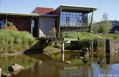 Stormwater Garden of the Portland Water Pollution Control Laboratory
