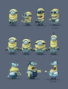 """""""Minions"""" by Eric Guillon* • Blog/Website 