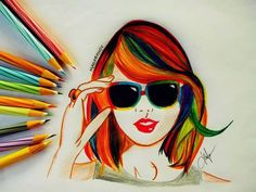 I think this is my favorite drawing by far! ;)