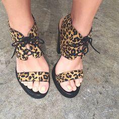 Lauren in the #ShoeCult Astoria Heel #leopard #laceup || Get the heels: http://www.nastygal.com/product/shoe-cult-astoria-heel?utm_source=pinterest&utm_medium=smm&utm_term=ngdib&utm_content=omg_shoes&utm_campaign=pinterest_nastygal