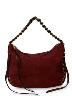 Nomad Large Suede Hobo