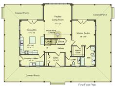 1000 images about floor plans on pinterest luxury log for Post frame homes plans