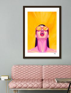Discover «SCREAM!», Numbered Edition Fine Art Print by Lionhart Gallen - From $24.9 - Curioos Scream Art, Fine Art Prints, Canvas Prints, Welcome Gifts, Fine Art Paper, My Arts, Ink, Artist, Artwork