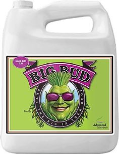 Advanced Nutrients Big Bud Liquid Fertilizer, Watch Your Flowers Get Larger and More Potent. Big Bud is the legendary bloom booster proven worldwide to swell