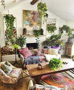 via @bohoside #InteriorInspo #Boho #Dream by shelbyy_jean