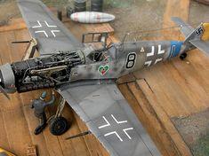 Messerschmitt Bf 109G-6 by Pier Francesco Grizi (Hasegawa 1/72)