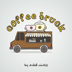 Coffee Truck logo design