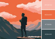 Vintage styles and color palettes are always making a comeback. Transform the look and feel of your designs with these 25 free retro color combinations. Vintage and… Vintage Colour Palette, Orange Color Palettes, Colour Pallette, Colour Schemes, Vintage Colors, Adobe Color Palette, Orange Palette, Black Color Palette, Nature Color Palette