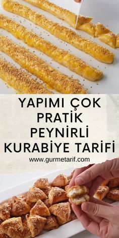 Turkish Recipes, Ethnic Recipes, Pasta Cake, Yummy Food, Tasty, Turkish Delight, Biscuits, Almond, Recipies
