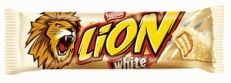 NESTLE BATON LION BIAŁY