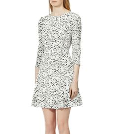 Reiss Giselle Fit & Flare Dress